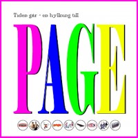 """Diverse Artister – """"Tiden går.. En hyllning till Page"""""""