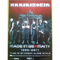 Liverapport: Rammstein 20120217, Stockholm