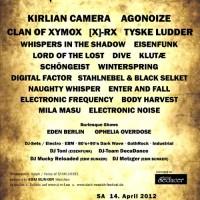 Liverapport: Dark Münich Festival 2012 del 1