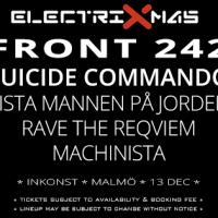 Liverapport: ElectriXmas 2014, Malmö