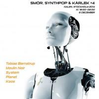 Liverapport: Smör Synthpop & Kärlek #4 2014, Stockholm