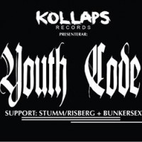 Liverapport: Youth Code (+ Bunkersex, Stumm/Risberg) 20150605, Stockholm