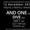 Liverapport: electriXmas 2015, Malmö