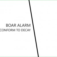 "Boar Alarm – ""Conform to Decay"""