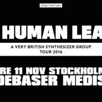 Liverapport: The Human League (+Ekkoes) 20161111, Stockholm (foto)