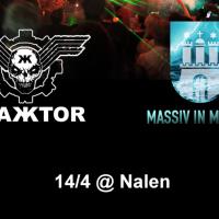 Liverapport: Trakktor (+Massiv in Mensch) 20170414, Stockholm