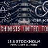 Liverapport: Front Line Assembly+Die Krupps (+Tension Control) 20180825, Stockholm