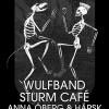 Liverapport: Bleed Out+Klubb Död (Anna Öberg, Sturm Café, Wulfband) 20181201, Stockholm