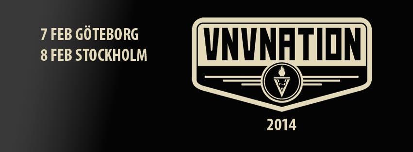 VNV Nation Sverige 2014